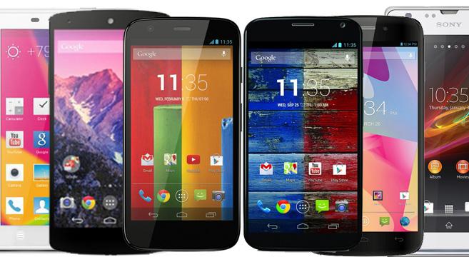 Smartphone sui 200€
